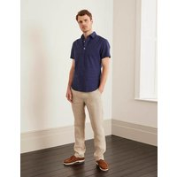 Relaxed Linen Trousers Natural Men Boden, Natural