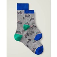Mini Me Socks Grey Boys Boden, Multicouloured
