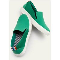 Boden Slip-on Trainers Green Men Boden, Green