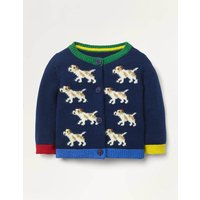 Colourful Cardigan Blue Baby Boden, Navy