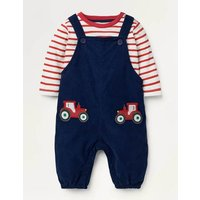 Cord Dungaree Set Blue Baby Boden, Blue