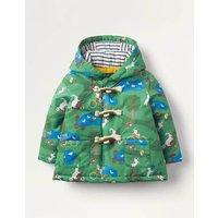 Water Resistant Duffle Coat Green Baby Boden, Green