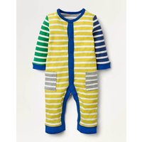 Hotchpotch Romper Yellow Baby Boden, Ivory