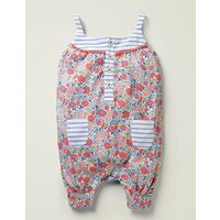 Hotchpotch Jersey Romper Pink Baby Boden, Pink