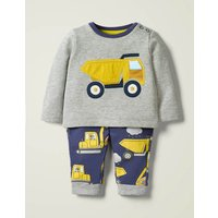 Applique Jersey Play Set Yellow Baby Boden, yellow
