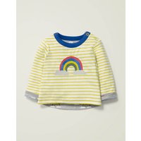 Reversible T-shirt Grey Boys Boden, Grey