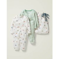 Cosy Pointelle Pack Multi Baby Boden, Multicouloured