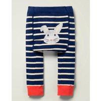 Knitted Leggings Blue Baby Boden, Navy