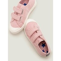 Double Strap Canvas Shoes Pink Boys Boden, Pink.