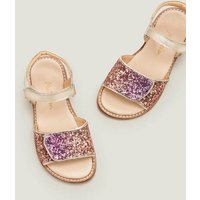 Leather Padded Sandals Multi Girls Boden, Multicouloured