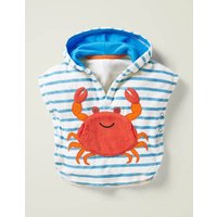 Novelty Towelling Throw-on Blue Baby Boden, Blue