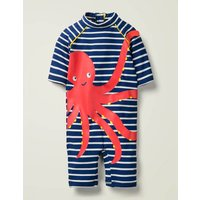 Sunsafe Summer Surfsuit Blue Baby Boden, Blue
