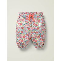 Summer Paperbag Trousers Pink Baby Boden, Multicouloured