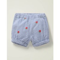 Baby Embroidered Woven Bloomers Blue Baby Boden, Blue
