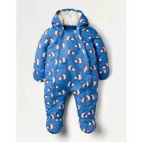 Waterproof Snowsuit Blue Baby Boden, Blue