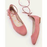 Effie Ballet Flats Pink Women Boden, Pink