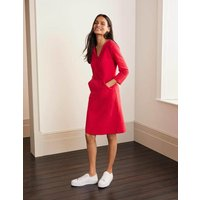 Bronte Ottoman Dress Red Women Boden, Red