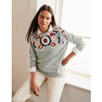The Sweatshirt Grey Women Boden, Grey