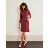 Ellen Ottoman Dress Brown Women Boden, Brown