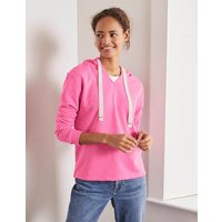 Jersey Lounge Hoodie Pink Women Boden, Pink