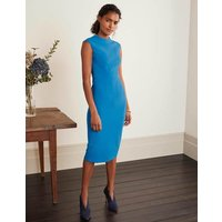 Anna Ottoman Dress Blue Women Boden, Blue