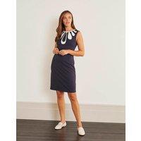 Cleonie Ponte Shift Dress Navy Women Boden, Navy