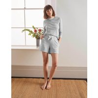 Thelma Jersey Shorts Grey Women Boden, Grey