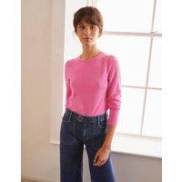 Stowe Merino Jumper Pink Women Boden, Pink