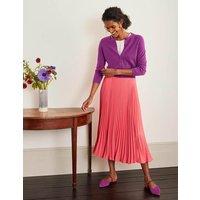 Cashmere Crop Cardigan Jewel Purple Women Boden, Jewel Purple
