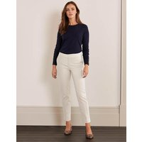 Richmond 7/8 Trousers Ivory Women Boden, Ivory