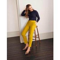 Richmond 7/8 Trousers Yellow Women Boden, Yellow