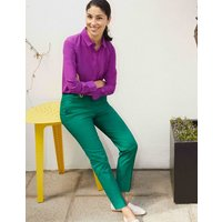 Richmond 7/8 Trousers Green Women Boden, Green