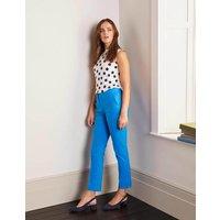 Richmond 7/8 Trousers Blue Women Boden, Blue