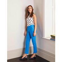 Richmond 7/8 Trousers Moroccan Blue Women Boden, Moroccan Blue