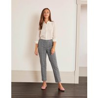 Richmond 7/8 Trousers French Navy, Pebble Chevron Women Boden, French Navy, Pebble Chevron
