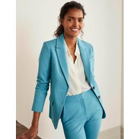 Smyth Ponte Blazer Blue Women Boden, Blue