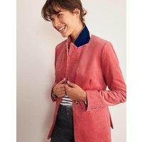Davies Cord Blazer Pink Women Boden, Pink