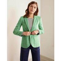 Atkins British Tweed Blazer Green Women Boden, Green