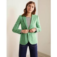 Atkins British Tweed Blazer Green Women Boden, Green