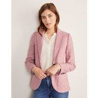 Atkins British Tweed Blazer Pink Women Boden, Pink