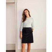 Beresford Mini Skirt Navy Women Boden, Navy