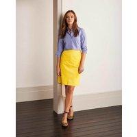 Beresford Mini Skirt Yellow Women Boden, yellow