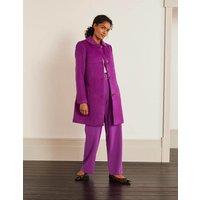 Clifford Coat Purple Women Boden, Purple
