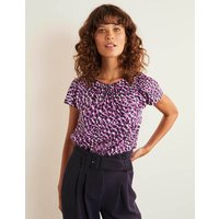 Florence Top Purple Women Boden, Purple