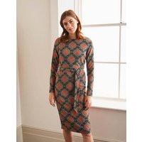 Harriet Dress Sage Green, Ornate Bloom Women Boden, Sage Green, Ornate Bloom