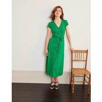 Frances Jersey Midi Dress Green Women Boden, Green