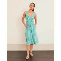Effie Jersey Dress Green Women Boden, Green