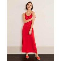 Louisa Jersey Maxi Dress Red Women Boden, Red