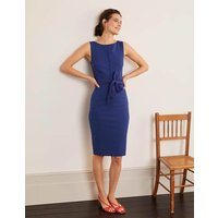 Zeta Ponte Dress Blue Women Boden, Blue