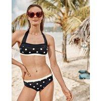 Santorini Bikini Top Navy Women Boden, Navy